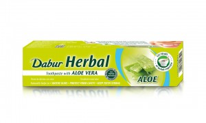 PASTA do Zębów Dabur - ALOES ALOE VERA