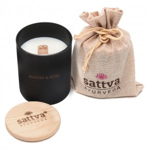 SATTVA ŚWIECA CANDLE INDIAN ROSE & MANGO