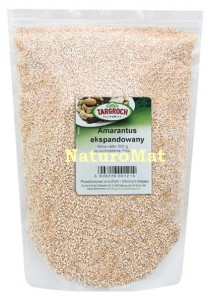 Amarantus Ekspandowany - popping 500 g
